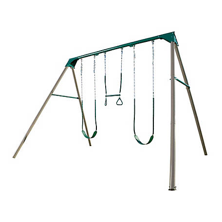 Lifetime Heavy Duty A Frame Metal Swing Set At Tractor Supply Co
