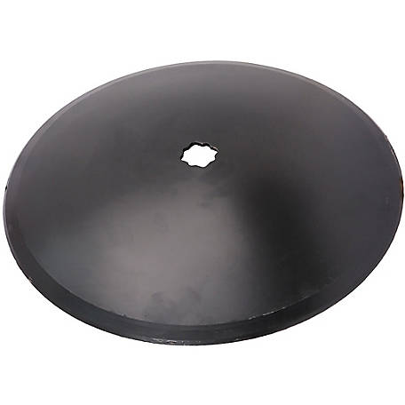 Disc Blade 16 x 11G (3.0mm) Smooth Edge, Axle Size 7/8 in. Square x 1 in. Round