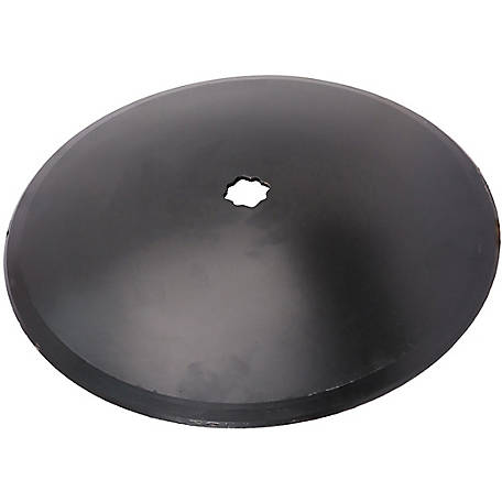 Disc Blade 16 x 11G (3.0mm) Smooth Edge, Axle Size 1 in. Square x 1-1/8 in. Square