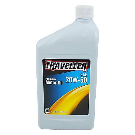 Traveller Premium 20W-50 Motor Oil 6/1 Quart