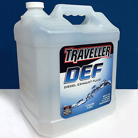 Diesel Exhaust Fluid >> Traveller Diesel Exhaust Fluid 2 5 Gal 2 Per Case At Tractor Supply Co