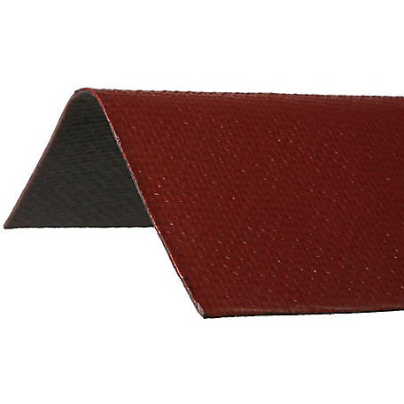 Ondura Asphalt Roof Ridge Cap, Red