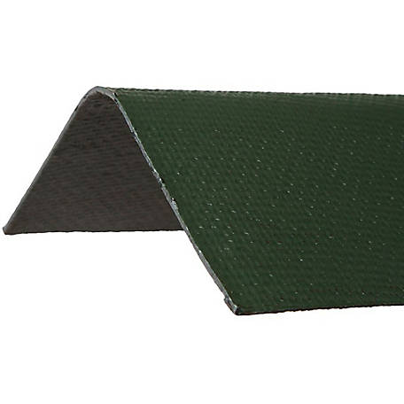 Ondura Asphalt Roof Ridge Cap, Green