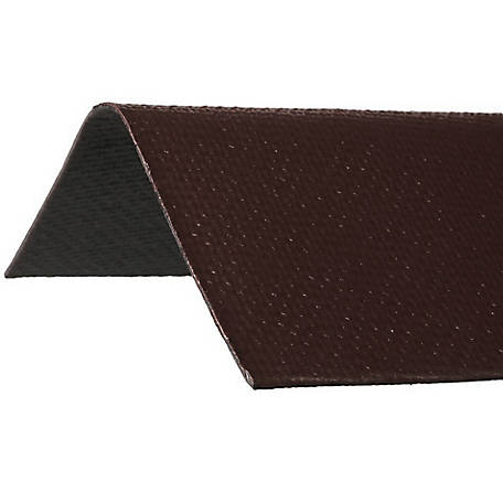 Ondura Asphalt Roof Ridge Cap, Brown