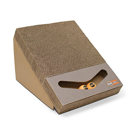 K&H Pet Products Scratch Ramp And Track Cardboard Toy