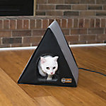 K&H Pet Products Heated A Frame, Gray / Black 18 x 14in. 20W