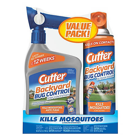 Cutter Cutter Backyard Bug Control Kit Mosquito Killer, Value Pack