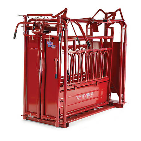 Tarter CattleMaster Series 6 Heavy-Duty Squeeze Chute with Auto Headgate, CMSCA6