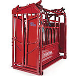 Tarter CattleMaster Series 6 Heavy-duty Squeeze Chute with Manual Headgate, CMSCM6