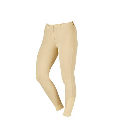 Saxon Women's Knee Patch Pull-On Schooling Breeches