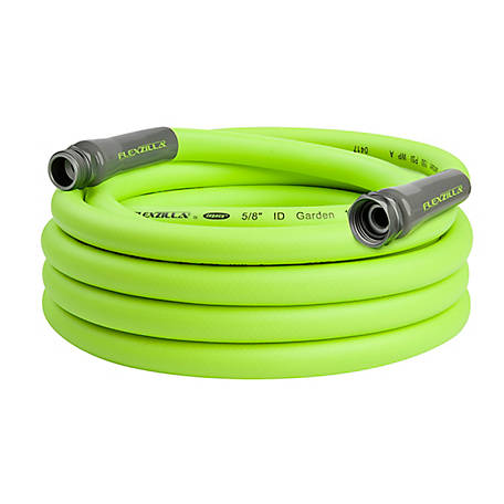 Flexzilla Garden Hose, 5/8 in. x 25 ft., 3/4 in., 11-1/2 GHT Fittings
