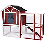 Precision Pet Products Craftsman XL Chicken House, Regional Color Rustic Red