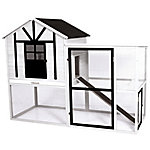 Precision Pet Products Craftsman XL Chicken House, Regional Color Black/White