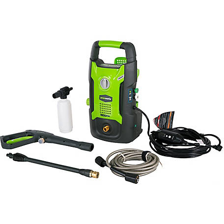 GreenWorks GPW1602 13A 1600 PSI 1.2 GPM Electric Pressure Washer