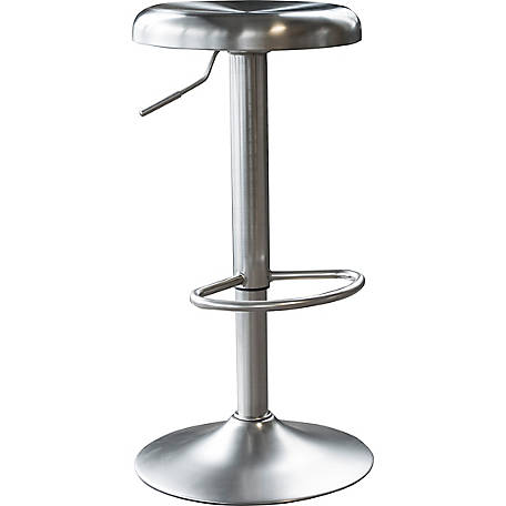 Stupendous Amerihome Loft Stainless Steel Bar Stool At Tractor Supply Co Caraccident5 Cool Chair Designs And Ideas Caraccident5Info