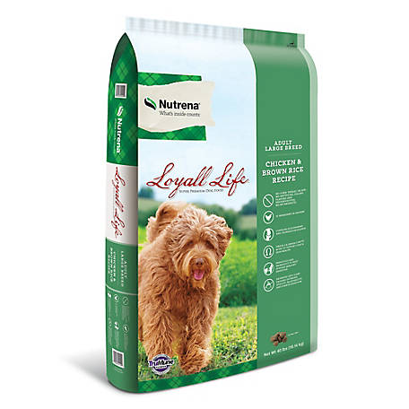 Nutrena Loyall Large Breed Chicken & Rice, 40 lb.