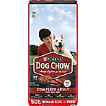 Purina Dog Chow Complete Adult Made with Real Beef Dog Food, 50 lb.
