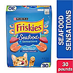Purina Friskies Seafood Sensations Cat Food, 30 lb. Bag