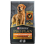 Purina Pro Plan SAVOR Adult Shredded Blend Chicken & Rice Formula Dog Food, 47 lb.