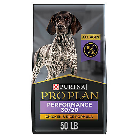 Purina Pro Plan High Protein Dry Dog Food; SPORT Performance 30/20 Formula, 50 lb. Bag