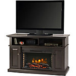 Muskoka Delaney 48 in. Media Fireplace, Rustic Brown