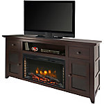 Muskoka Winchester 56 in. Media Electric Fireplace, Dark Walnut