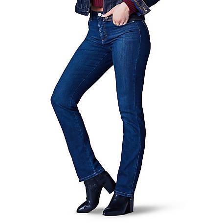 8ffc7f43b51 Lee Women s Classic Fit Monroe Straight Leg Jean
