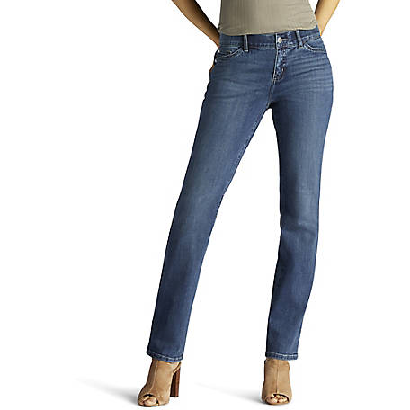Lee Women's Total Freedom Straight Leg Jean