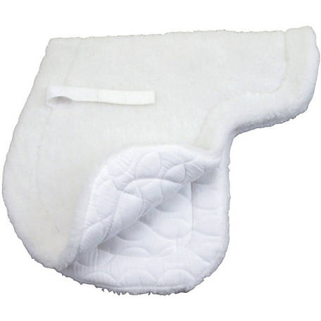 Roma Fleece Top/Quilted Bottom Close Contact Saddle Pad