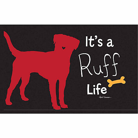 Pawsome Pet Placemats It's A Ruff Life Placemat