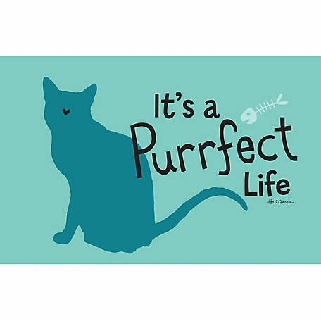 Pawsome Pet Placemats It's A Purrfect Life Placemat