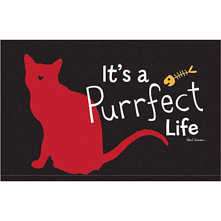 Pawsome Pet Placemats It's A Purrfect Life Placemat 2