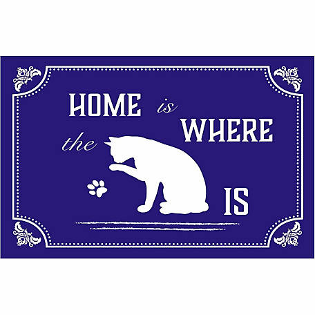 Pawsome Pet Placemats Home is Where the Cat Is Placemat