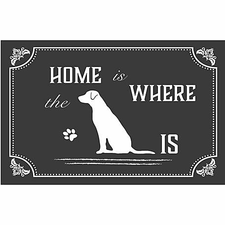 Pawsome Pet Placemats Home is Where the Dog Is Placemat