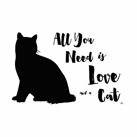 Pawsome Pet Placemats All You Need is Love and a Cat Placemat
