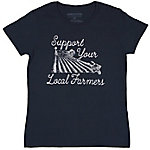 Farm Fed Clothing Women's Support Your Local Farmers Graphic T-Shirt
