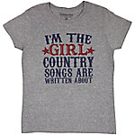 Farm Fed Clothing Women's I'm The Girl Graphic T-Shirt