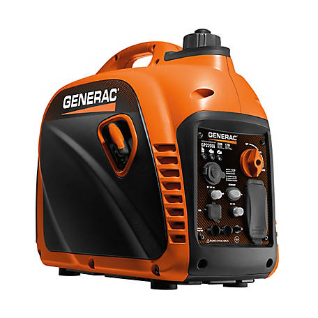 Generac GP2200i 2,200 Watt Portable Inverter Generator, CSA/CARB, 7117