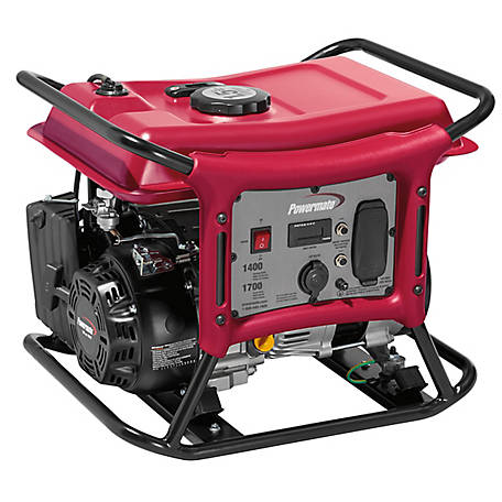 Powermate Powermate CX1400 - 1400 Watt Portable Generator, 49-State/CSA, PC0141400.01