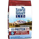 Natural Balance L.I.D. Limited Ingredient Diets High-Protein Beef Formula Dry Dog Food