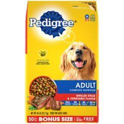 Shop 50 lb. Bonus Bag Pedigree Adult Complete Nutrition Dog Food at Tractor Supply Co.