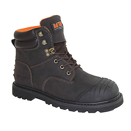 AdTec Men's 6 in. Steel Toe Work Boot