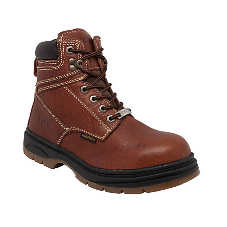 SAFA Men's 6 in. Steel Toe Waterproof Work Boot