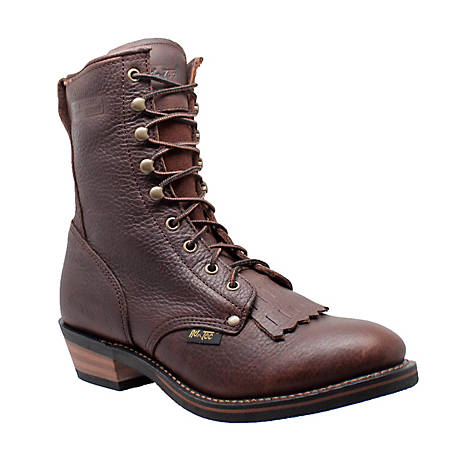 AdTec Men's 9 in. Chestnut/Black Packer Boot