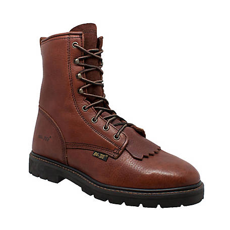 AdTec Men's 9 in. Chestnut Lacer Boot