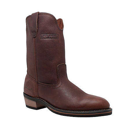 AdTec Men's 12 in. Reddish Ranch Wellington Boot