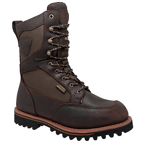 Tecs Men's 11 in. Cordura Dark Brown Hunting Boot