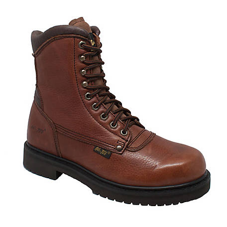 AdTec Men's 8 in. Brown Work Boot