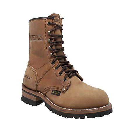 AdTec Women's 9 in. Logger Boot