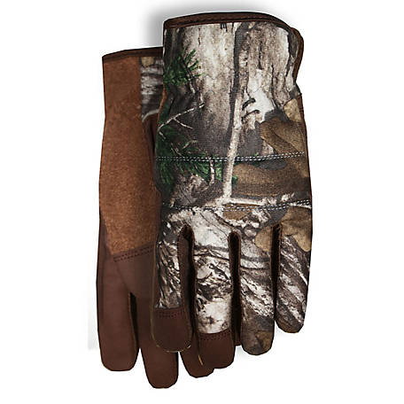 Midwest Gloves Synthetic LP Realtree Spandex Gloves
